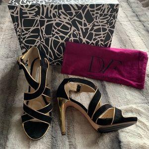 DIANE von FRUSTENBERG heels size 8